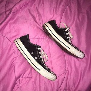 🖤 💉 Black Converse Shoes 💉 🖤